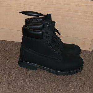 Black Timberland Boots 6-Inch Premium Waterproof